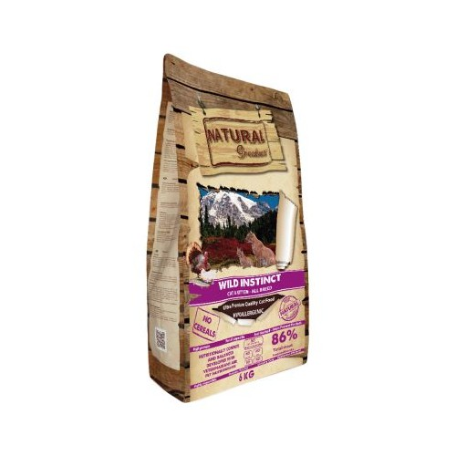 Natural Greatness wild instinct 6KG + LATA NATURAL GREATNESS 70GR REGALO