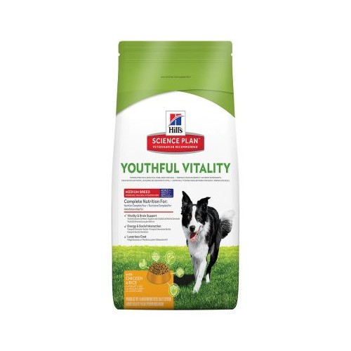 Hill's 7+ Medium Youthful Vitality con pollo 10kg
