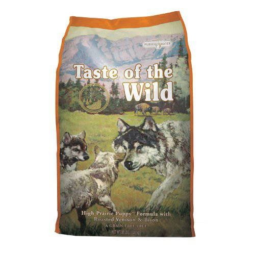 Taste of the Wild High Prairie Canine Puppy con Bisonte y venado 13 KG