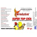 ORNIZIN SUPER TOP CRIA 65GR