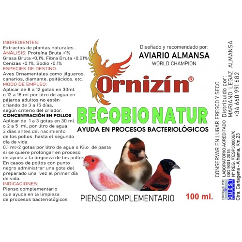 ORNIZIN BECOBIO 100ml