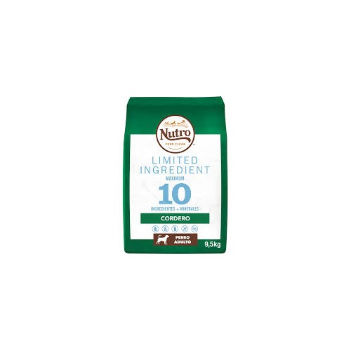 Nutro Limited Ingredient Diet Adult Razas Medianas Cordero 9.5KG