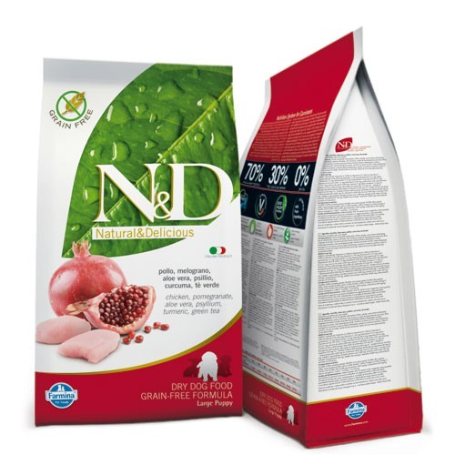 N&D Chicken & Pomegranate Puppy Large 12 Kg