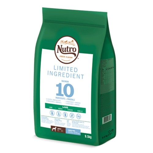 Nutro Limited Ingredient Adulto Razas Grandes Cordero 9.5 KG
