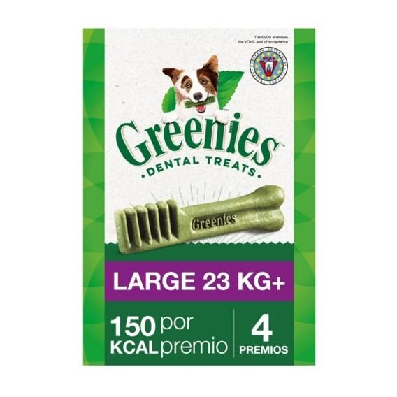 GREENIES LARGE 22-45 KG 4UNIDADES 170 GR 4 UNIDADES