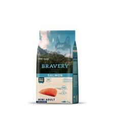 BRAVERY GRAIN FREE SALMÓN RAZAS MINI ADULT 7KG