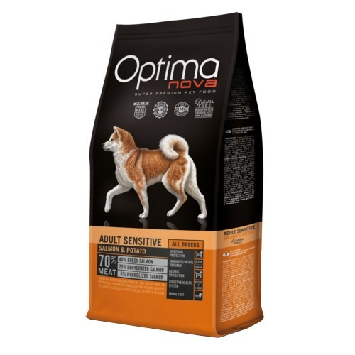 Pienso Optima Nova Adult Sensitive Grain Free 12KG