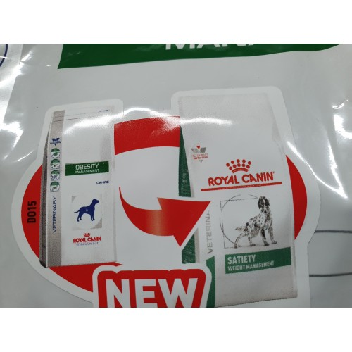 ROYAL CANIN OBESITY MANAGEMENT cambia ROYAL CANIN SATIETY 12KG