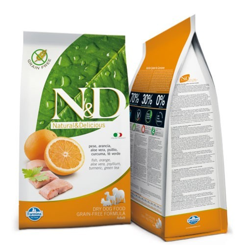 N&D Fish & Orange Adult Dog 12 Kg