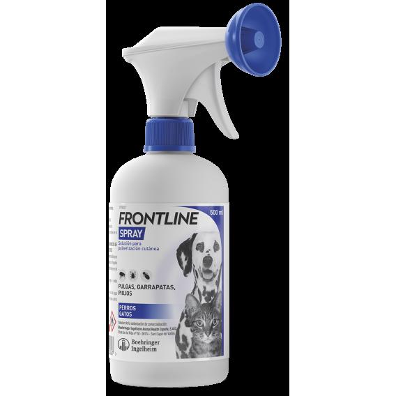 Frontline Spray Antiparasitario 500ml