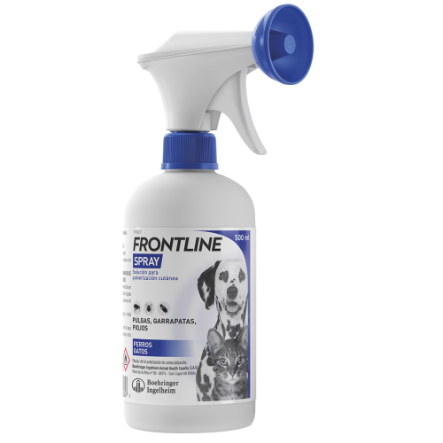 Frontline Spray Antiparasitario 500ml