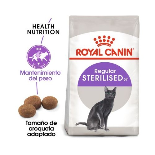 ROYAL CANIN FELINE STERILISED 10+2KG gratis