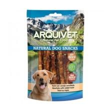 Arquivet Twist con conejo enrollado Natural Dog Snacks 1 kg