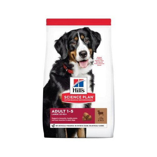 Hill's Adult Large Breed con cordero y arroz 14 kg