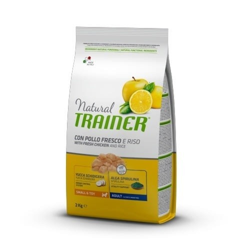 Natural Trainer Adult Small & Toy pollo y arroz