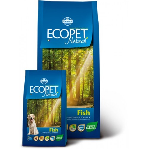Ecopet Natural Fish MAXI 12kg