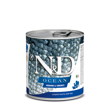 Farmina N&D Ocean Adult arenque & camaron (Latas) 285 gr