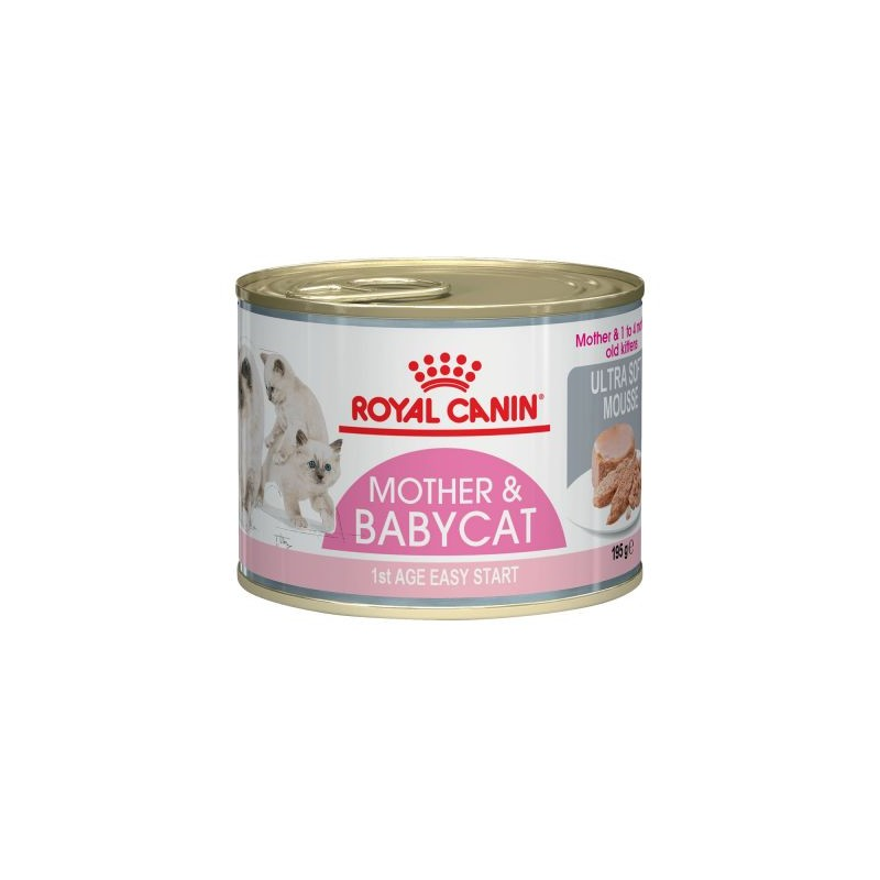 LATAS ROYAL CANIN BABY CAT 195GR