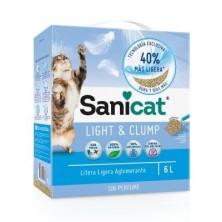 Sanicat Light & Clump arena aglomerante para gatos 6 L