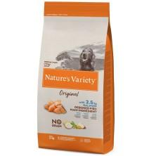 Nature's Variety Original No Grain Medium Adult salmón sin espinas 12 KG