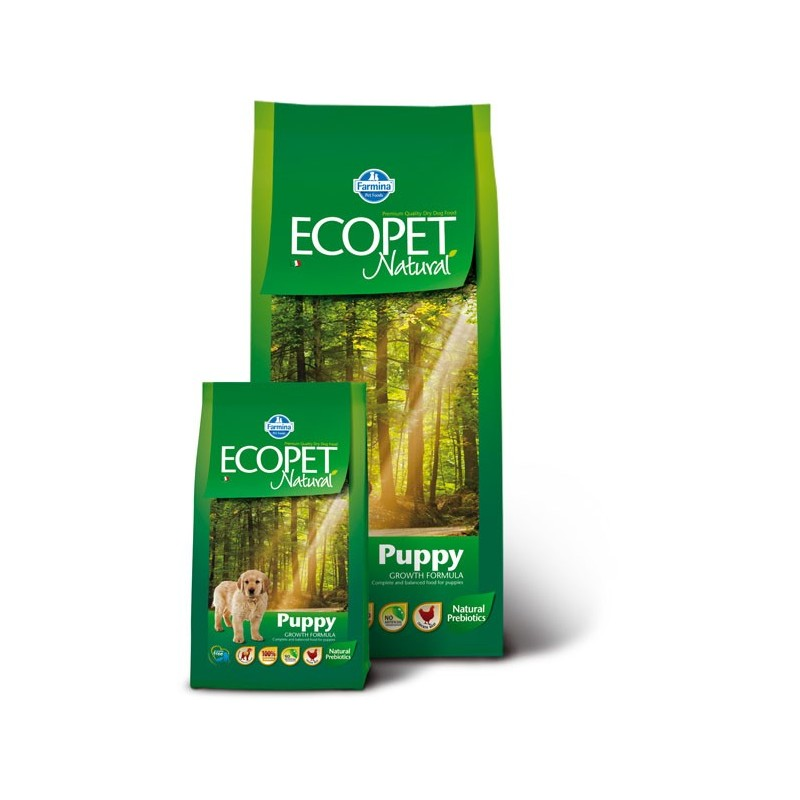 Ecopet Natural Puppy MINI 12kg