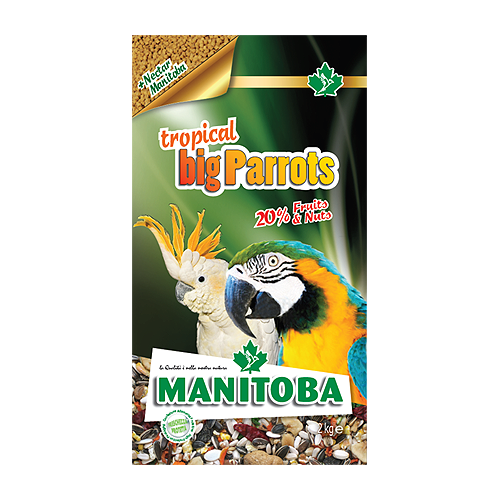 MANITOBA TROPICAL BIG PARROT 2kg