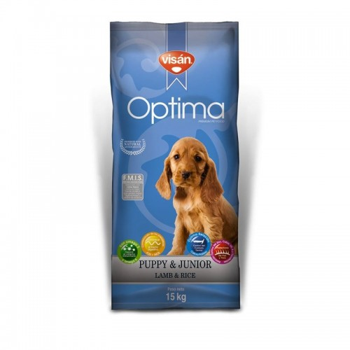 OPTIMA PUPY LAMB AND RICE 15kg