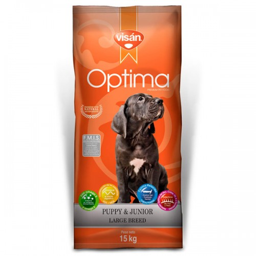 VISAN ÓPTIMA PUPY LARGE BREED. 15kg