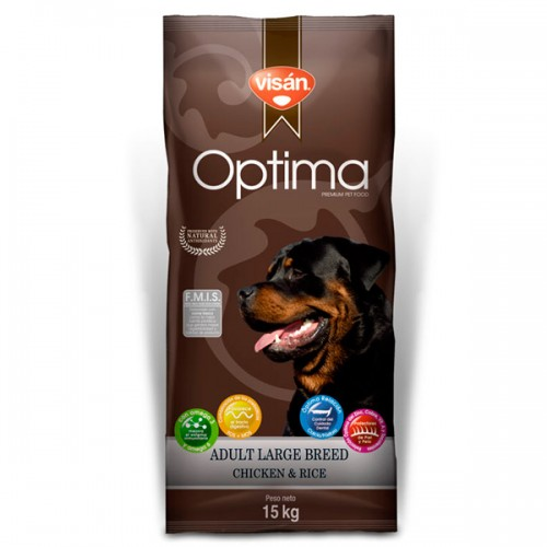 VISAN ÓPTIMA ADULT LARGE BREED 15kg