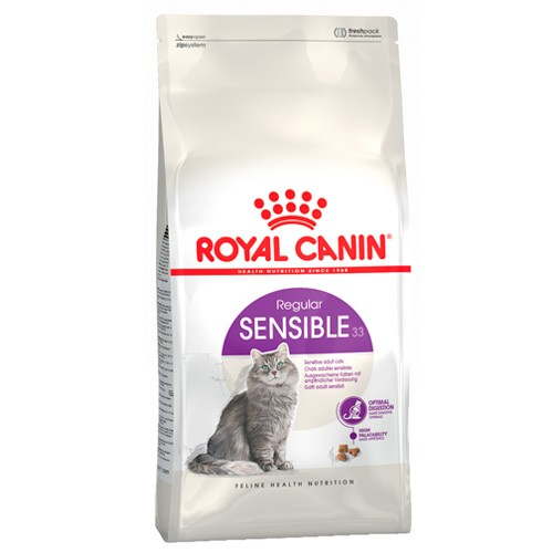 ROYAL CANIN FELINE SENSIBLE 10+2 KG gratis