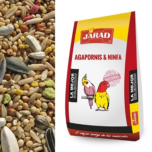MIXTURA JRAD AGAPORNIS STANDAR 25kg