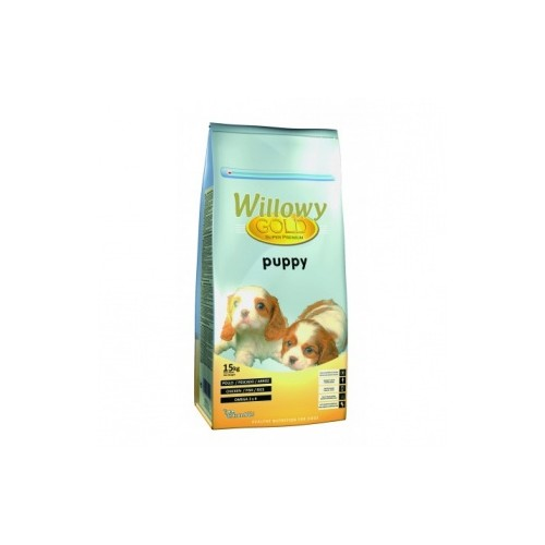 willowy gold puppy 15kg