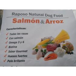 Raposo Natural Salmón 18 kg