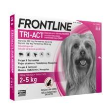 FRONLINE TRI ACT 2- 5 KG 6 PIPETAS